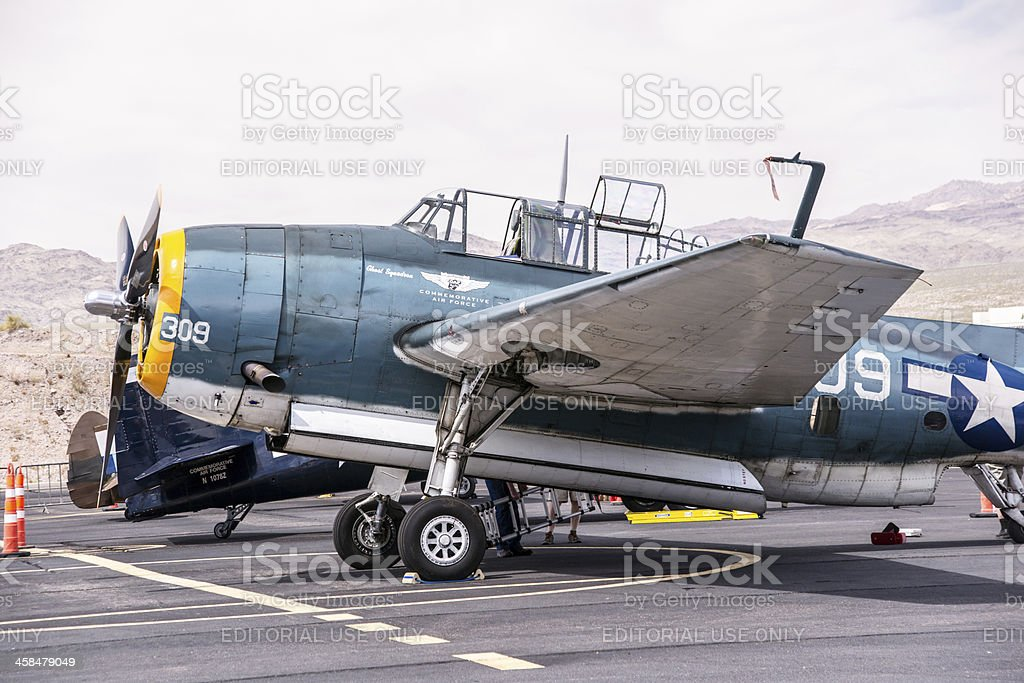 Pearl Harbor Avenger royalty-free stock photo