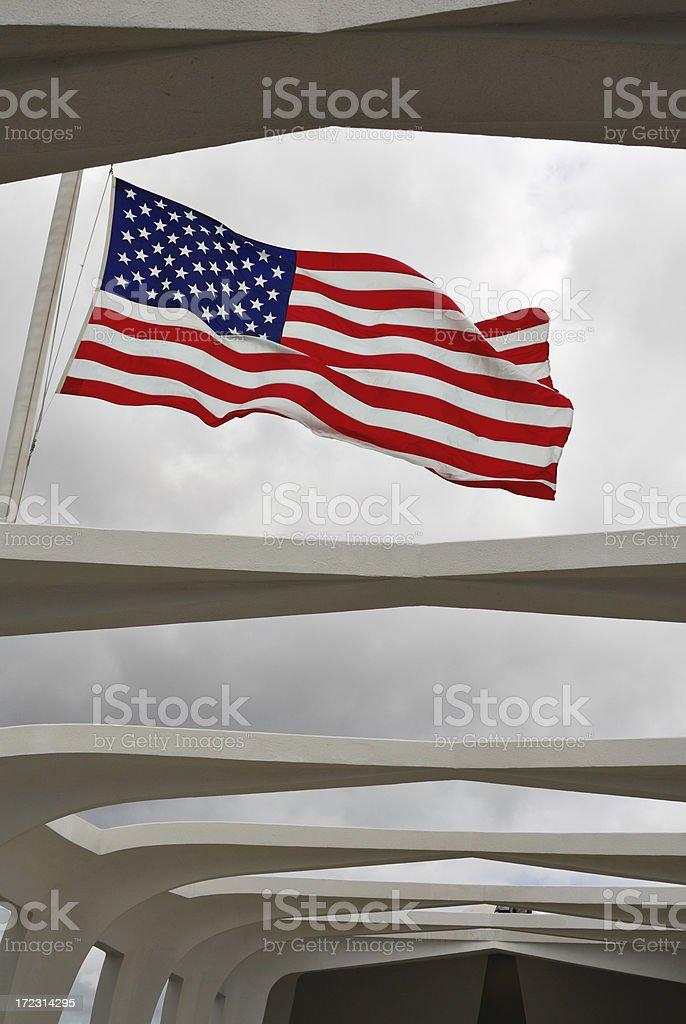Pearl Harbor Memorial stock photo