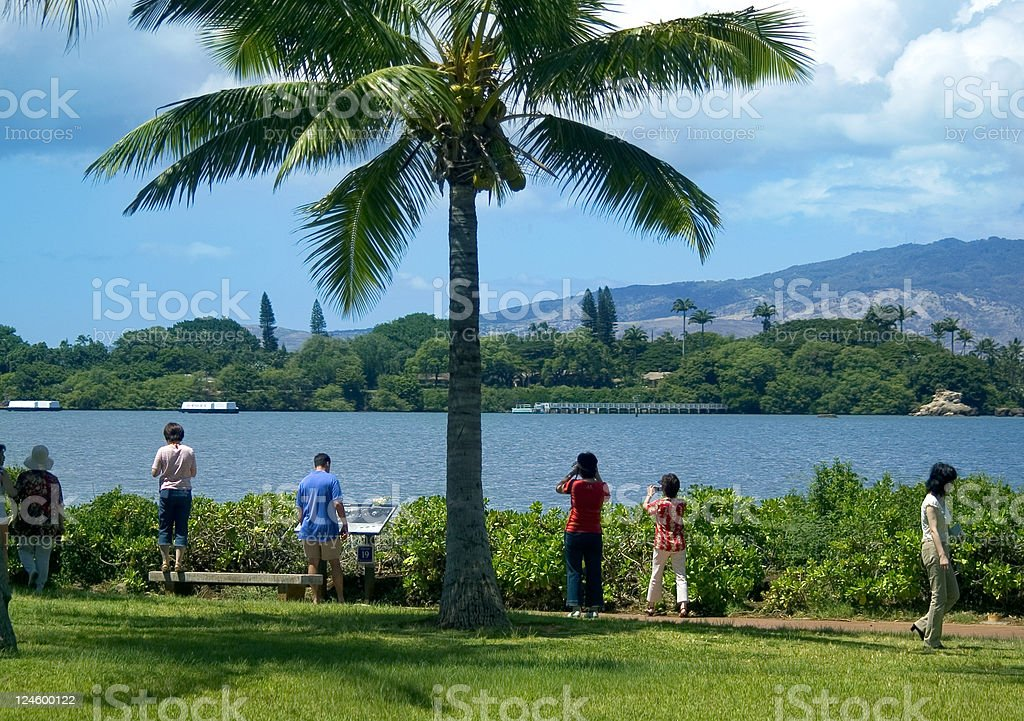 Pearl Harbor royalty-free stock photo