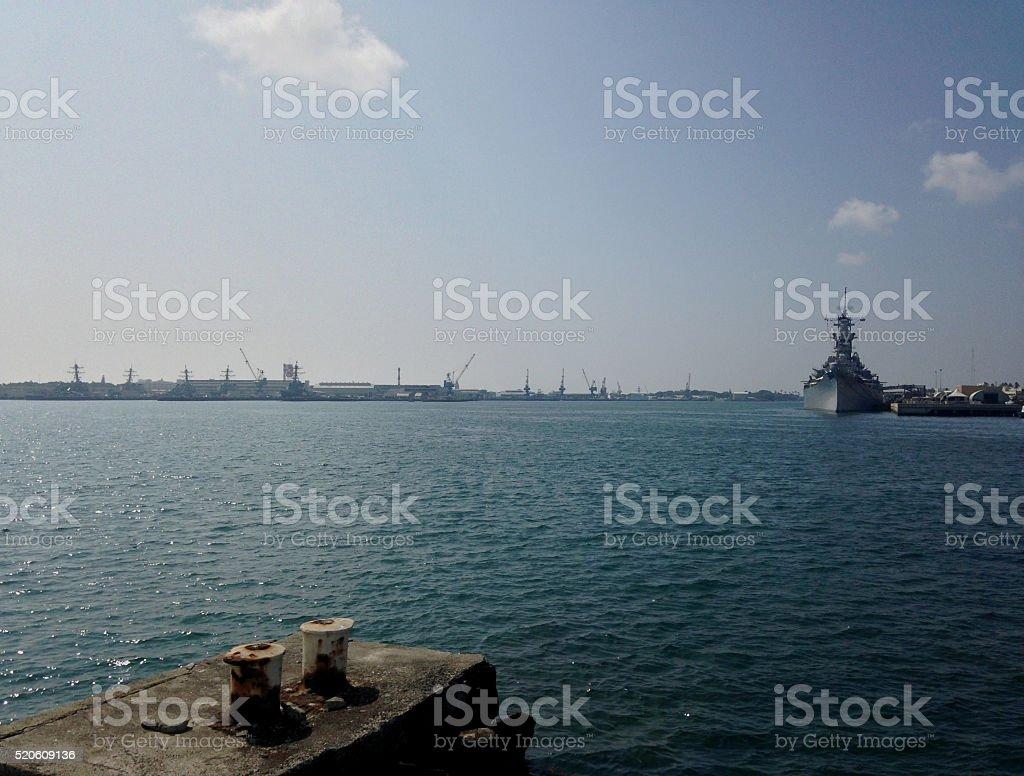 Pearl Harbor stock photo