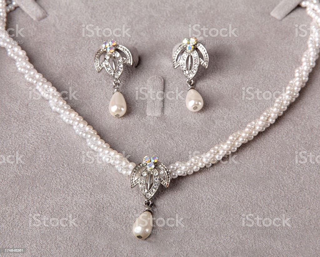 Pearl Jewelry (Click for more) stock photo