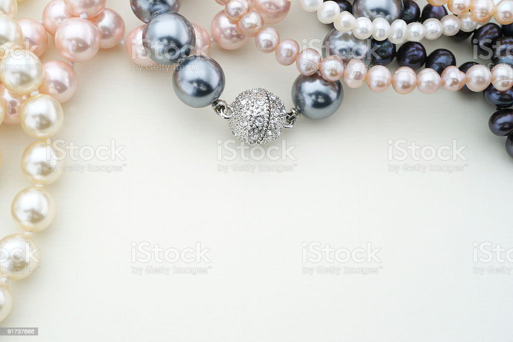 Pearl Jewelry royalty-free stock photo