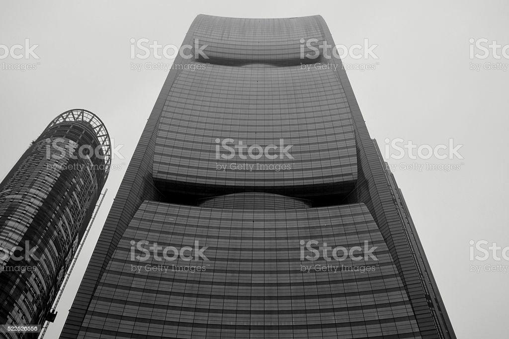 Pearl River tower, Guangzhou, China stock photo