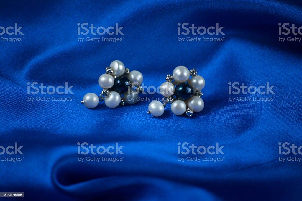 Pearl wallpaper stock photo