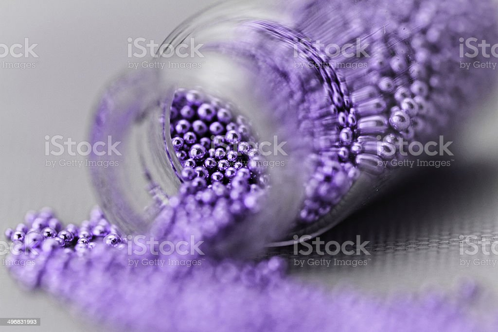 Pearls for nails royalty-free stock photo