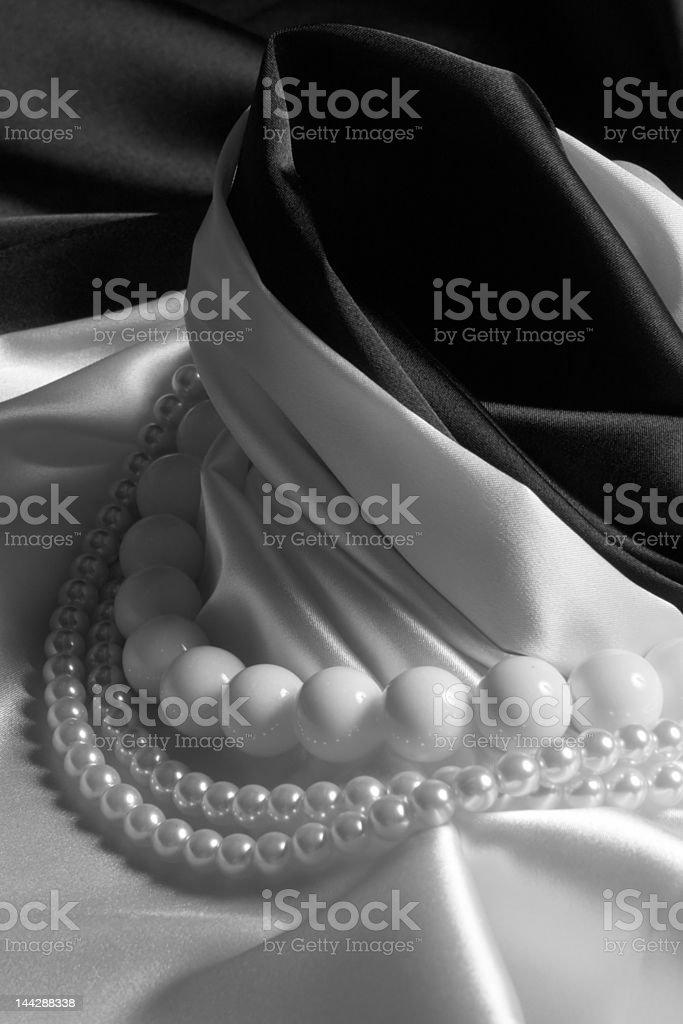 Pearls stock photo
