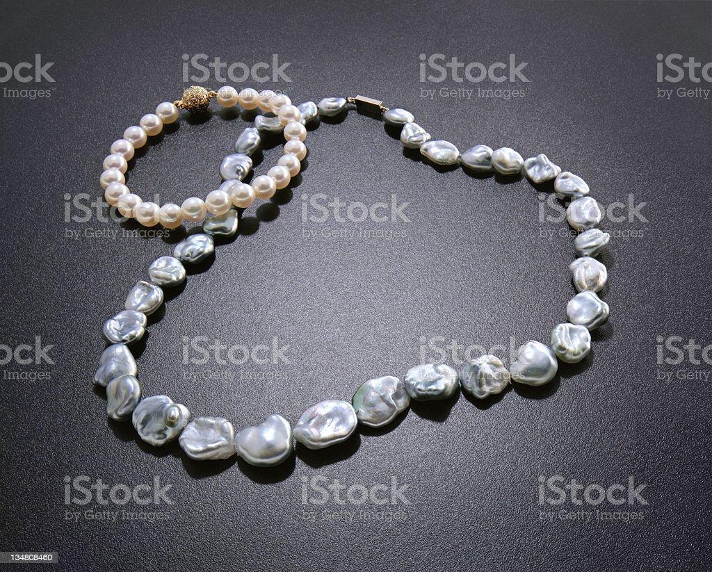 Pearls XXL royalty-free stock photo