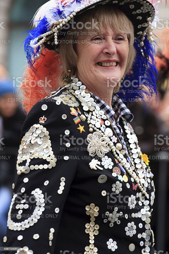Pearly Queen stock photo