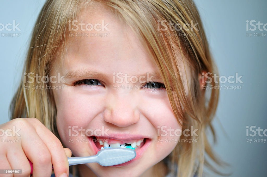 Pearly Whites royalty-free stock photo