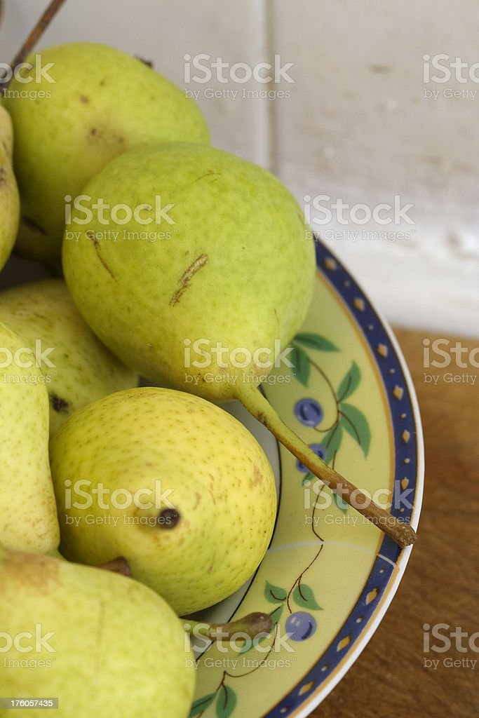 Pears from southern Italy royalty-free stock photo
