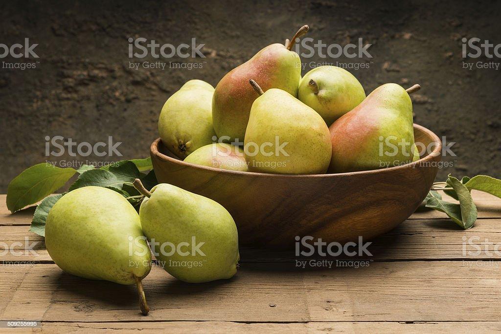 Pears Still life stock photo