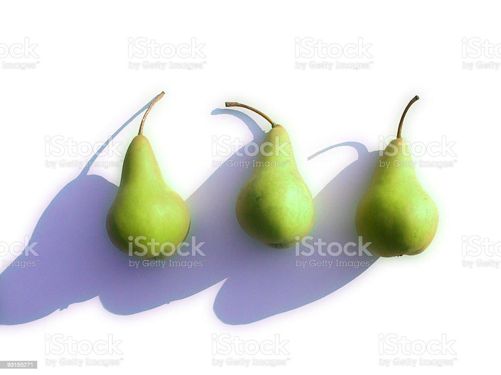 Pears still life royalty-free stock photo
