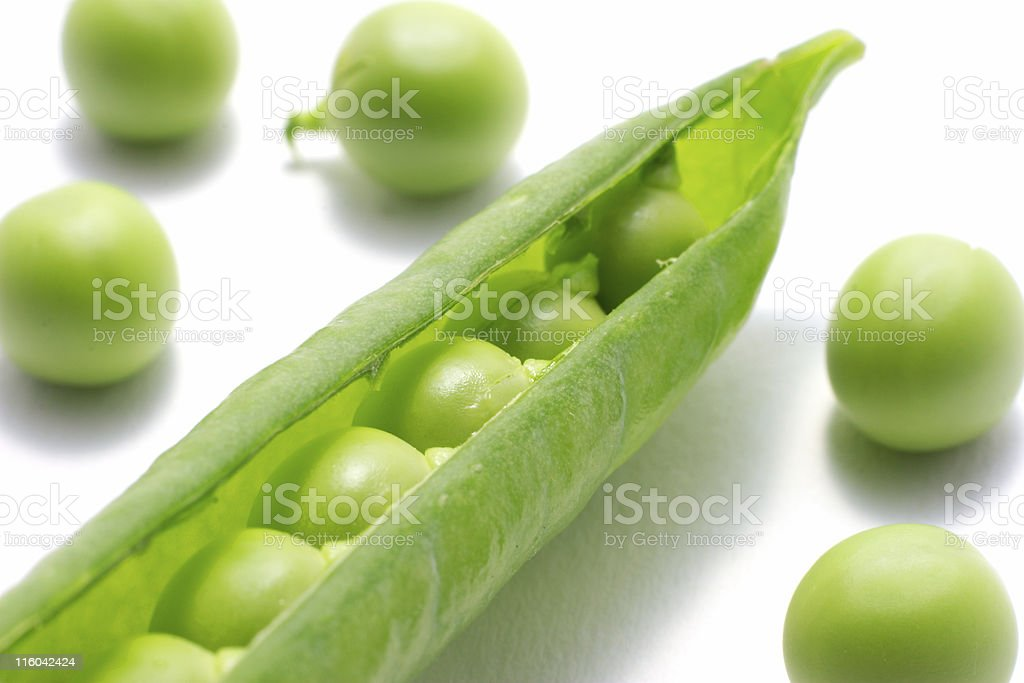 Peas in a pod. royalty-free stock photo