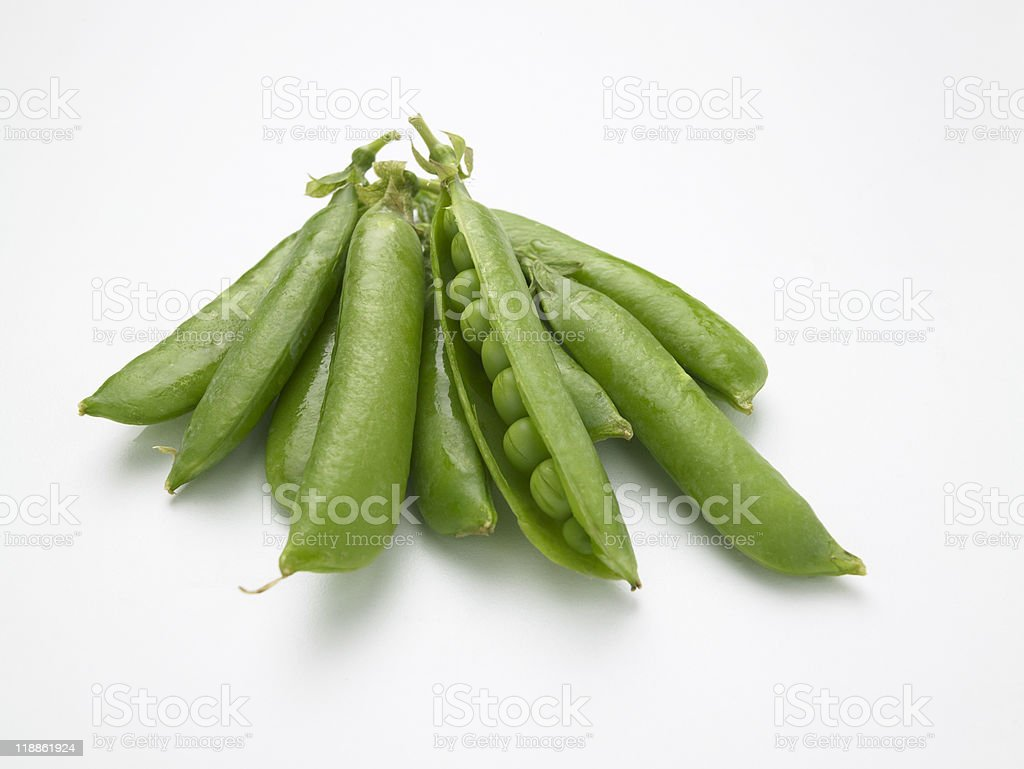 peas in a pod royalty-free stock photo