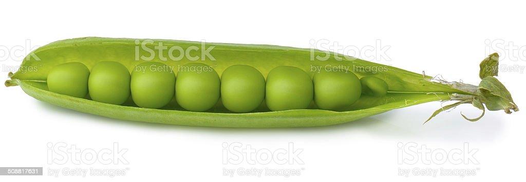 Peas in a pod stock photo