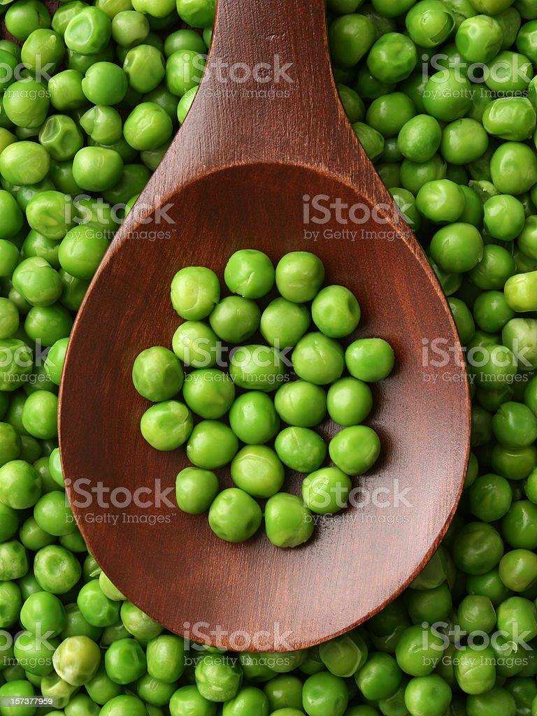 Peas royalty-free stock photo