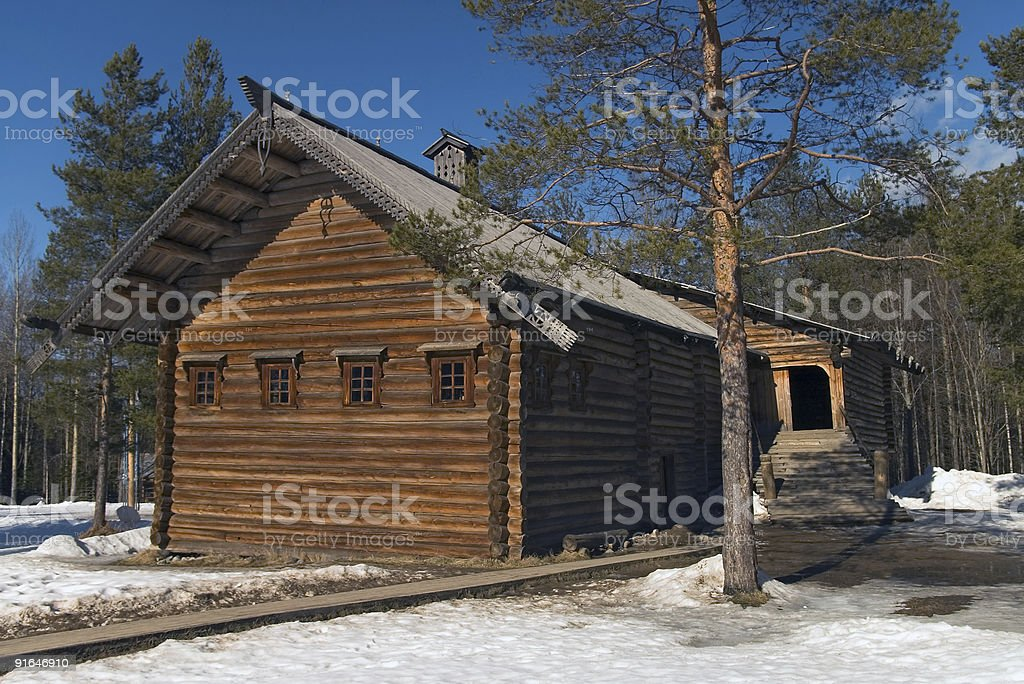peasant house royalty-free stock photo