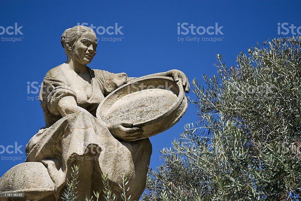 peasant of Don Quixote stock photo