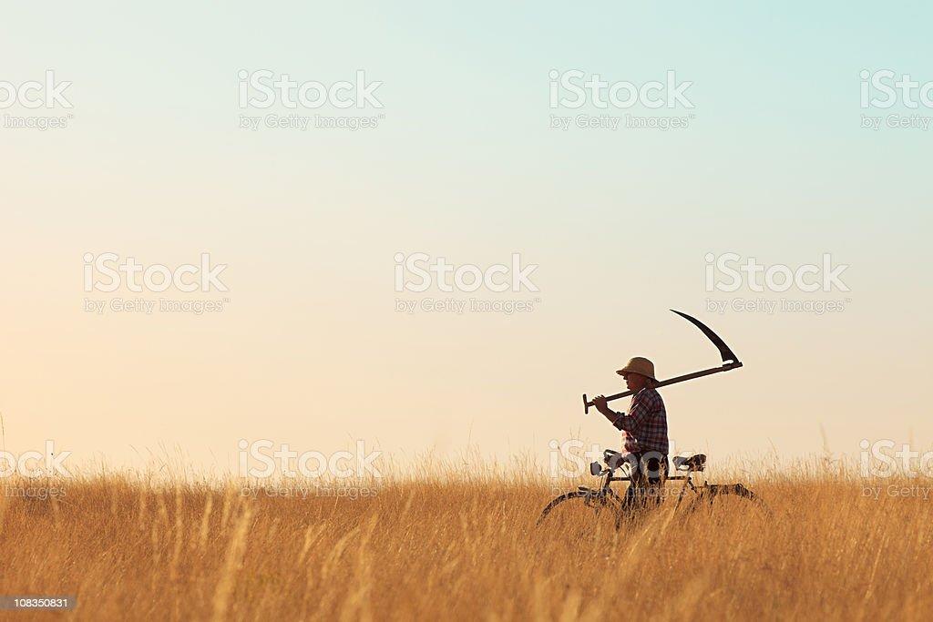Peasant stock photo
