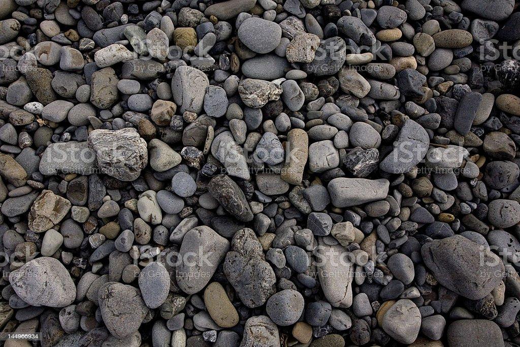 pebble beach miho matubara, japan, texture royalty-free stock photo