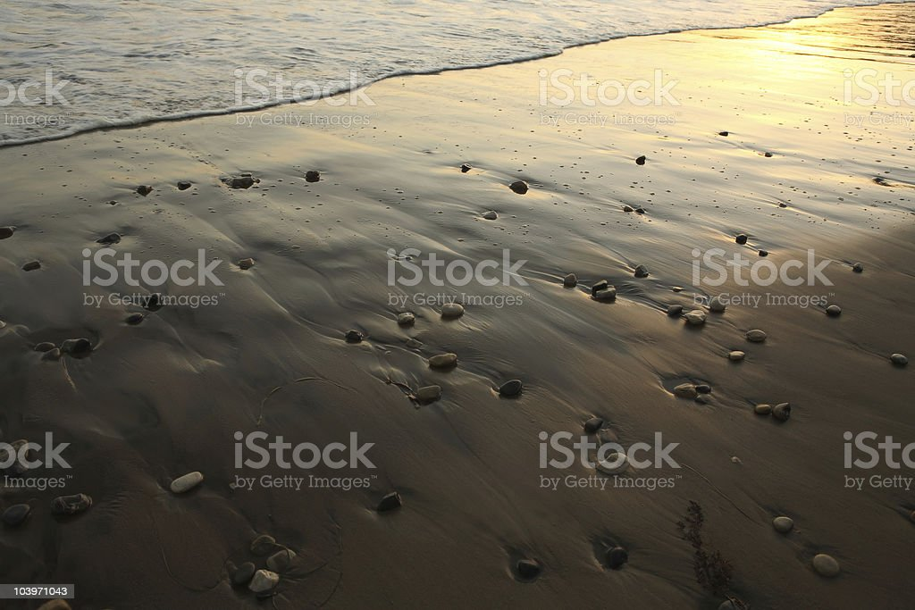 Pebble Beach stock photo