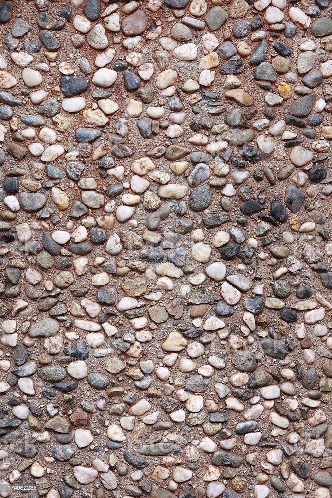 Pebble Stone Background royalty-free stock photo