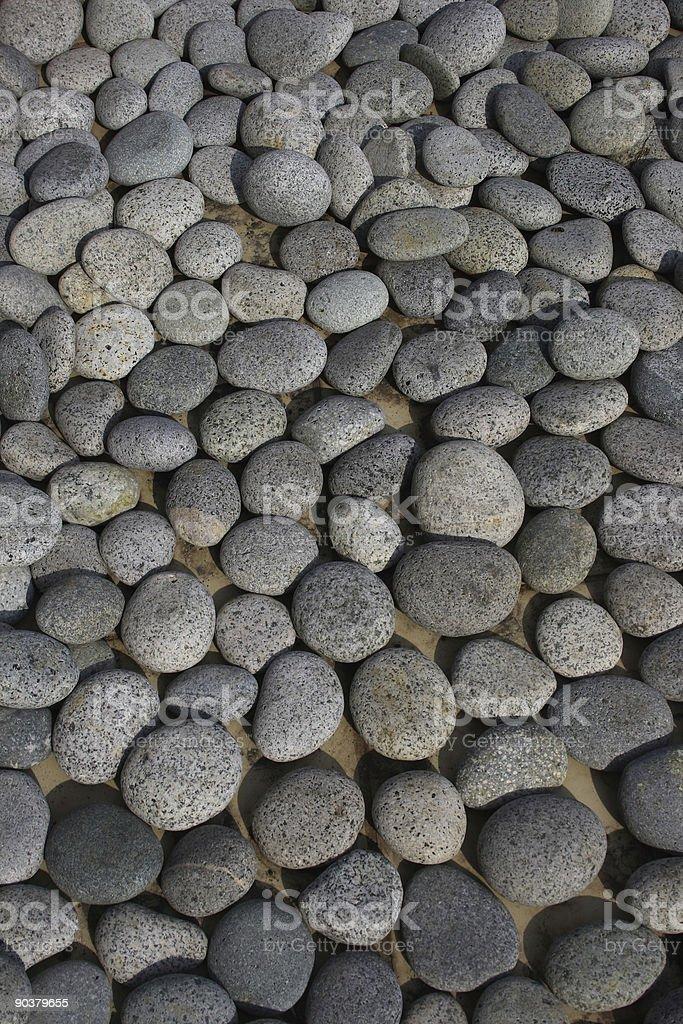Pebble Stone stock photo