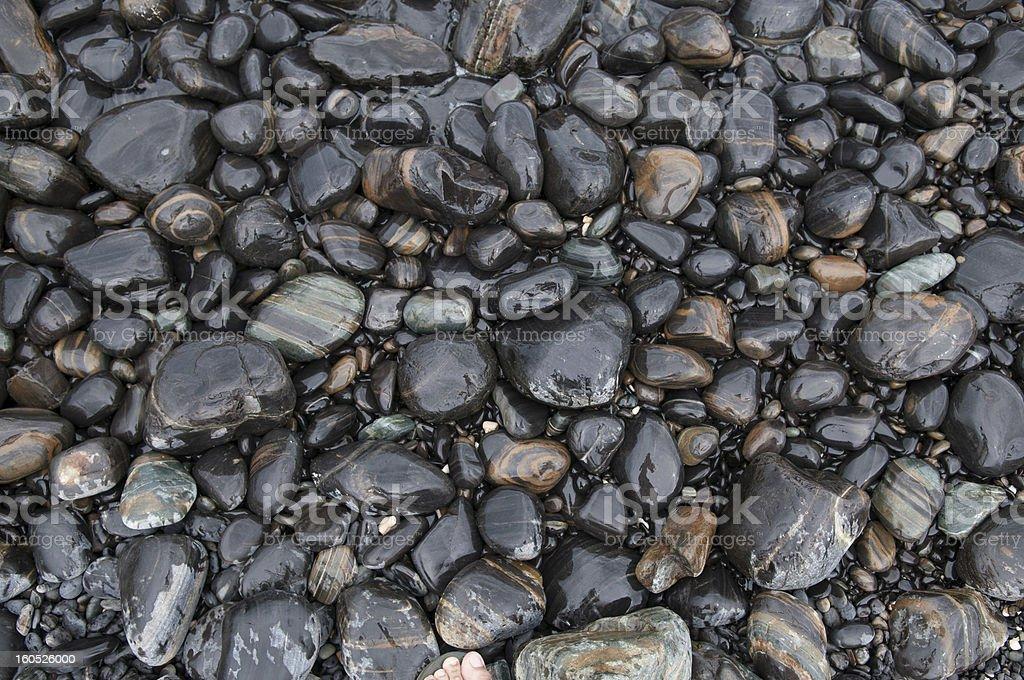 pebble stones royalty-free stock photo