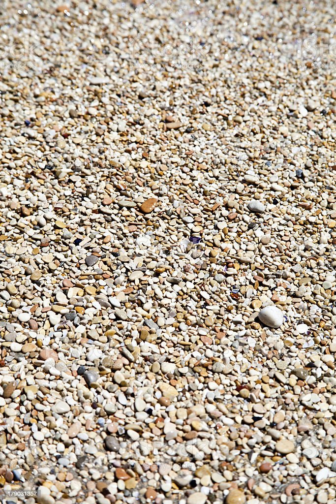 pebbles on a beach royalty-free stock photo
