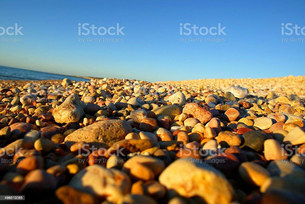 Pebbles on the Beach, Western Australia, Australia royalty-free stock photo