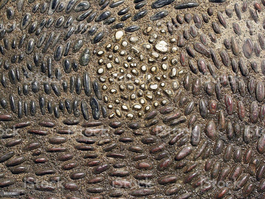 Pebbles Pattern royalty-free stock photo