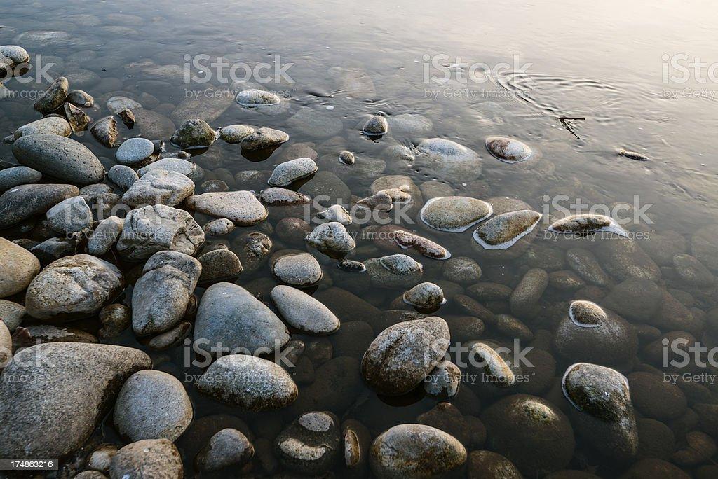Pebbles royalty-free stock photo