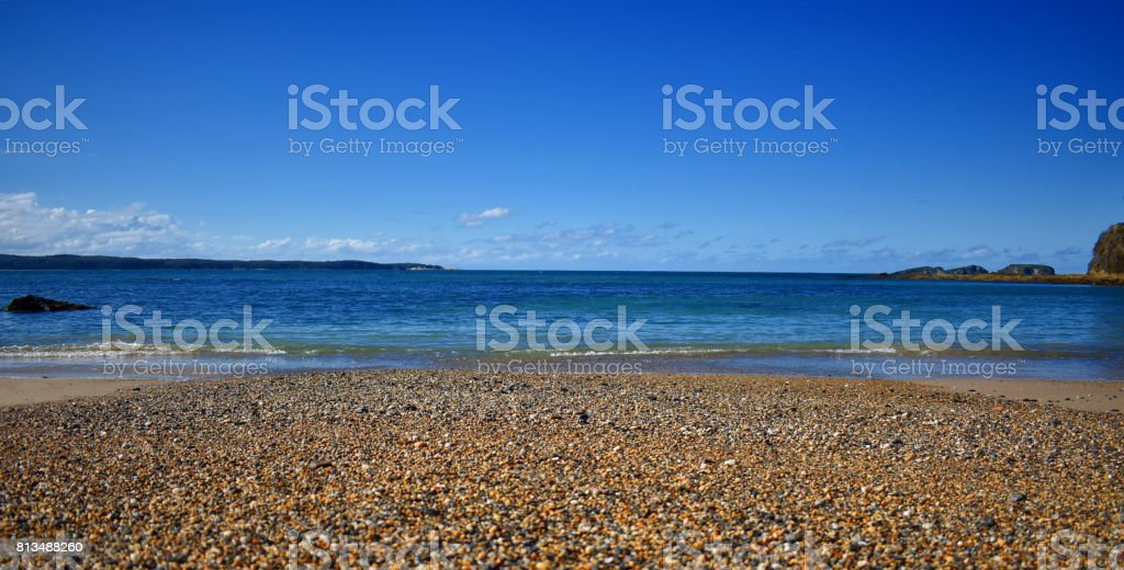 Pebbly Beach stock photo