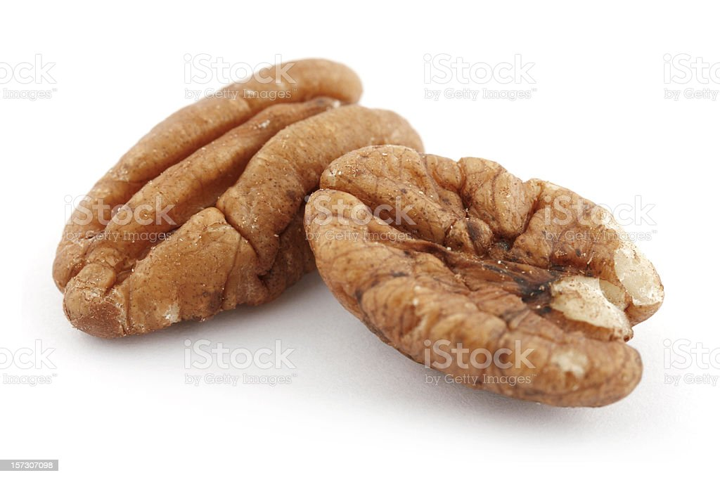 Pecan Halves stock photo