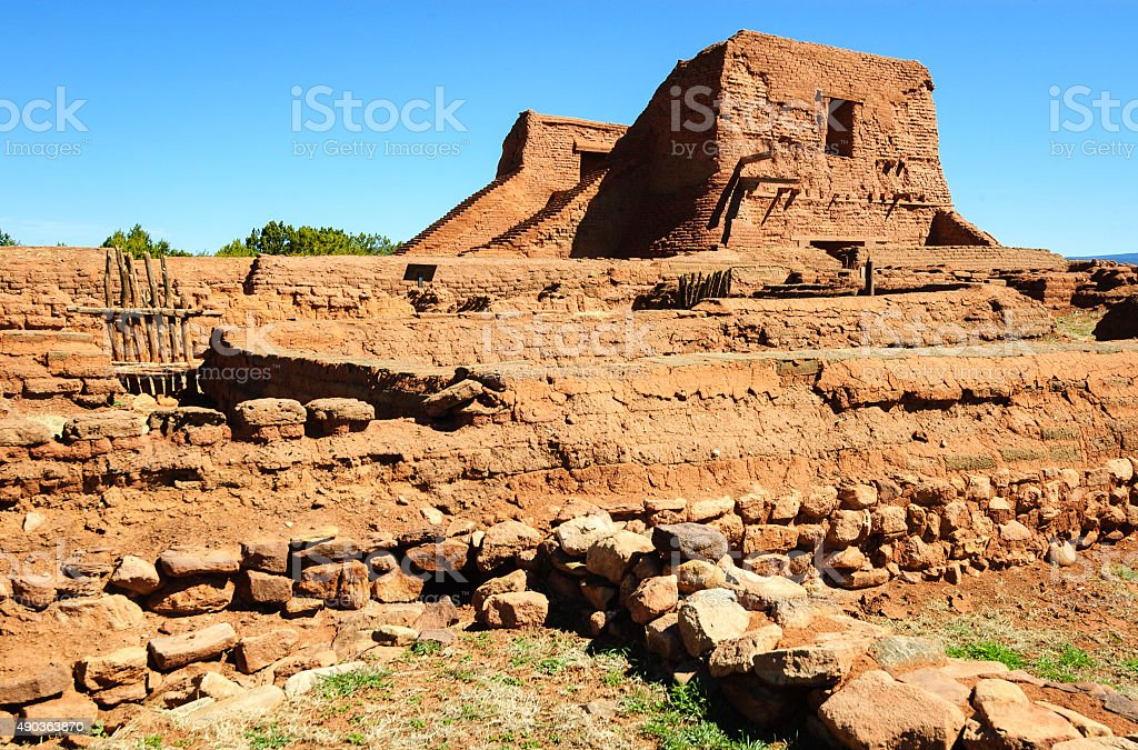 Pecos National Historical Park stock photo