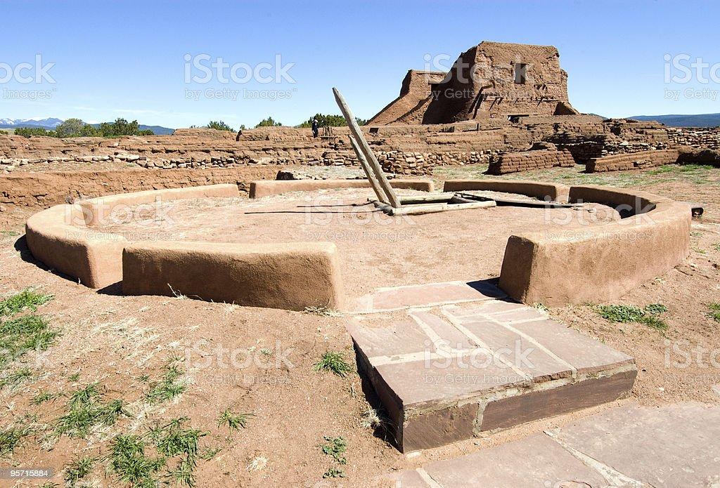 Pecos National Historical Park stock photo