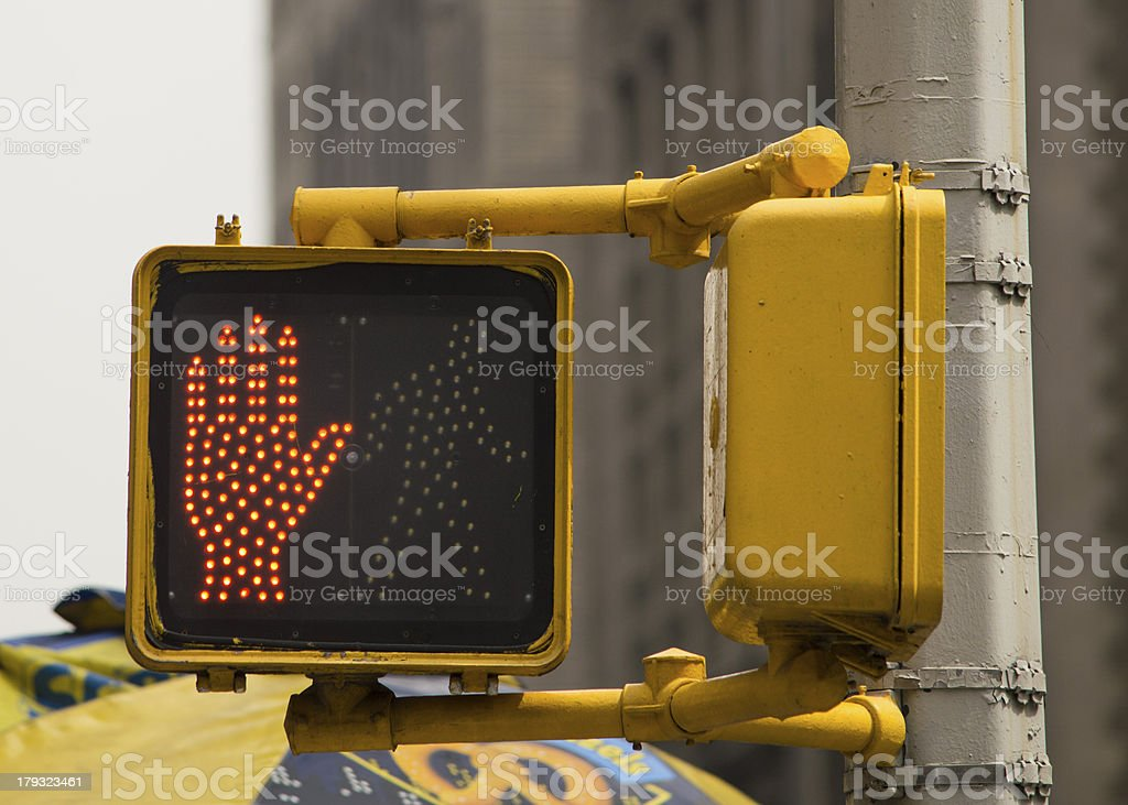 Ped sign royalty-free stock photo