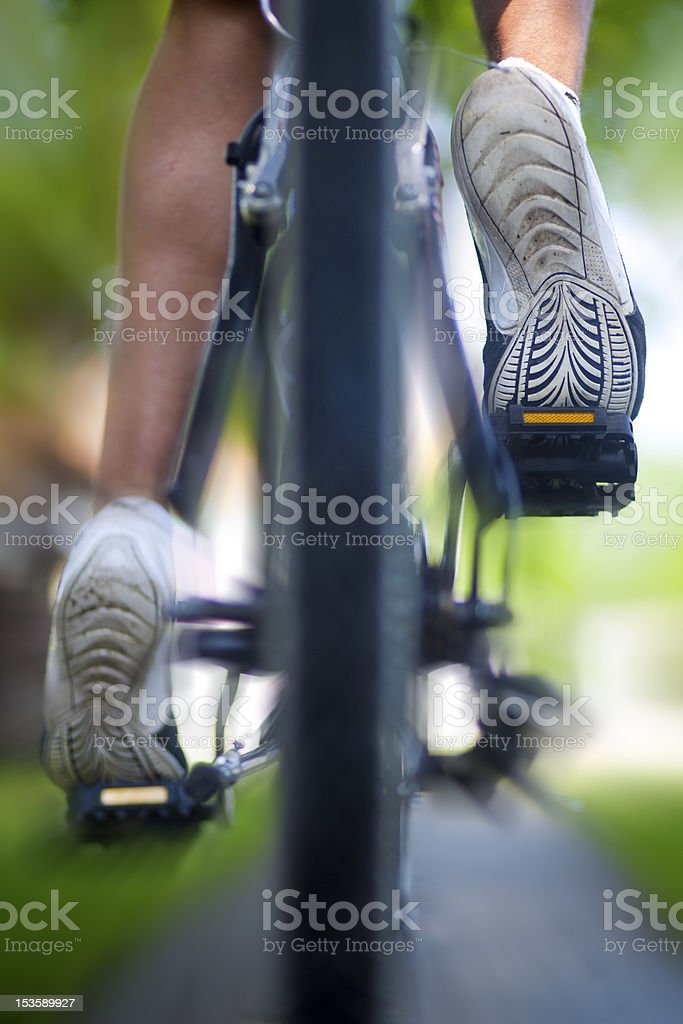 Pedal Power stock photo