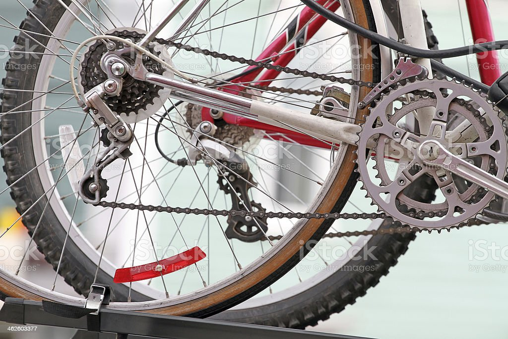 Pedal Power royalty-free stock photo