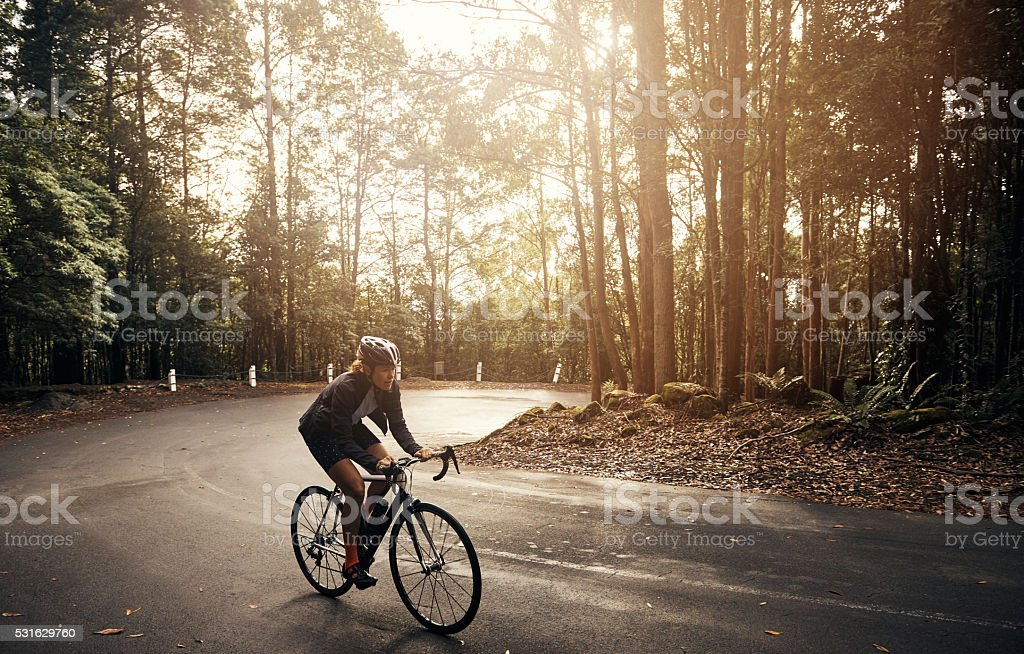 Pedal-powered fitness stock photo