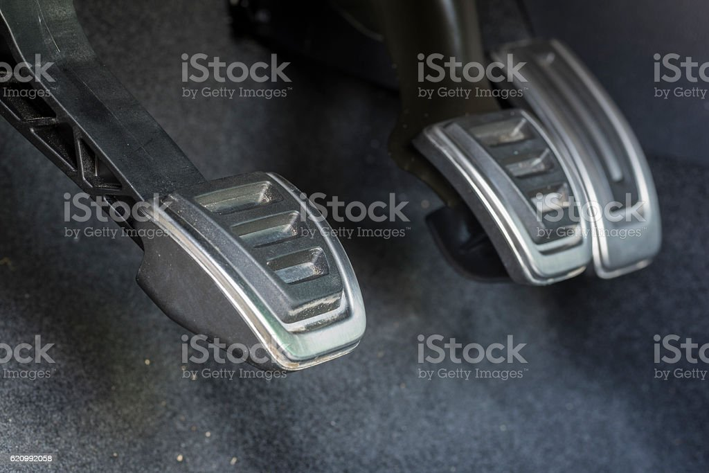 Pedals. stock photo