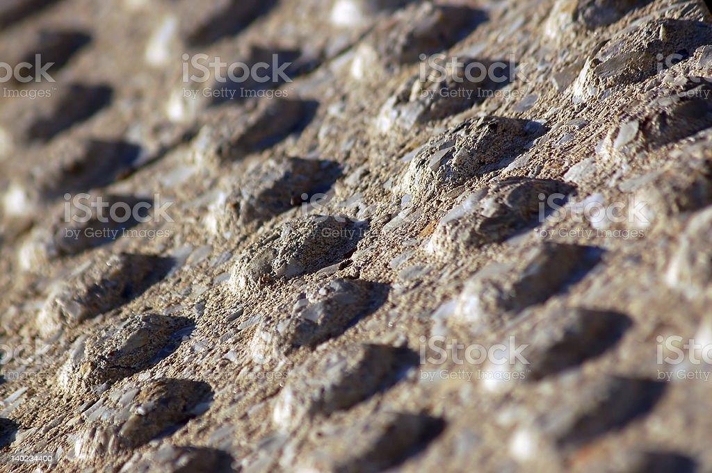 Pedestrian Bumps II royalty-free stock photo