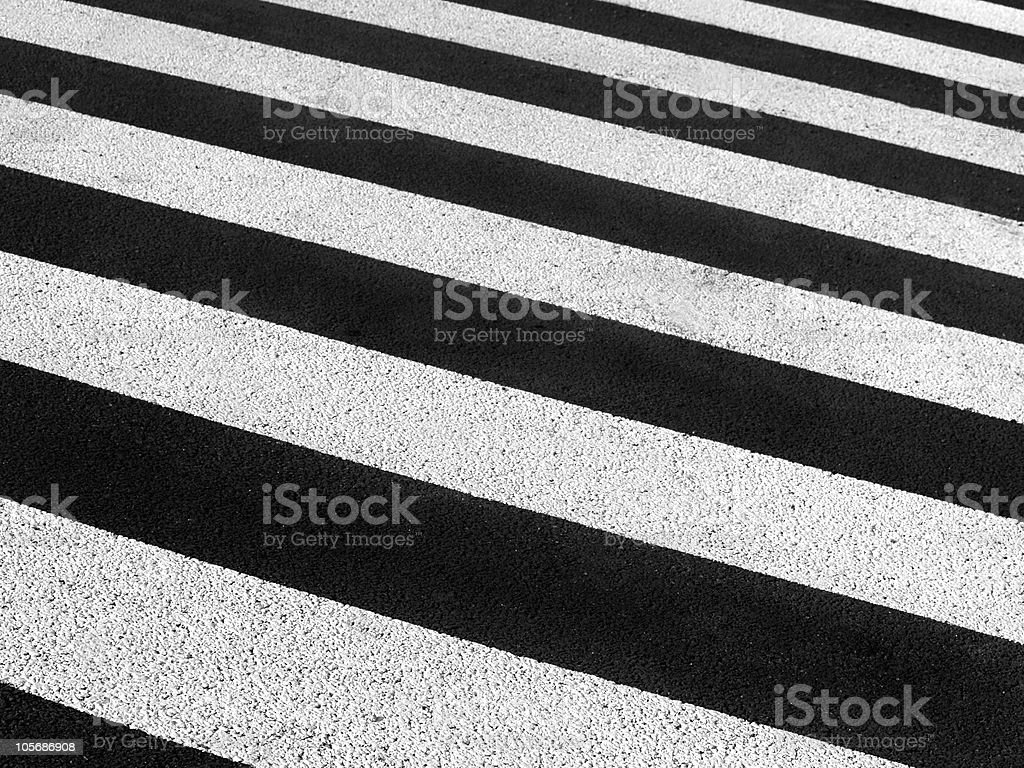 Pedestrian crossing background. Abstract lines royalty-free stock photo