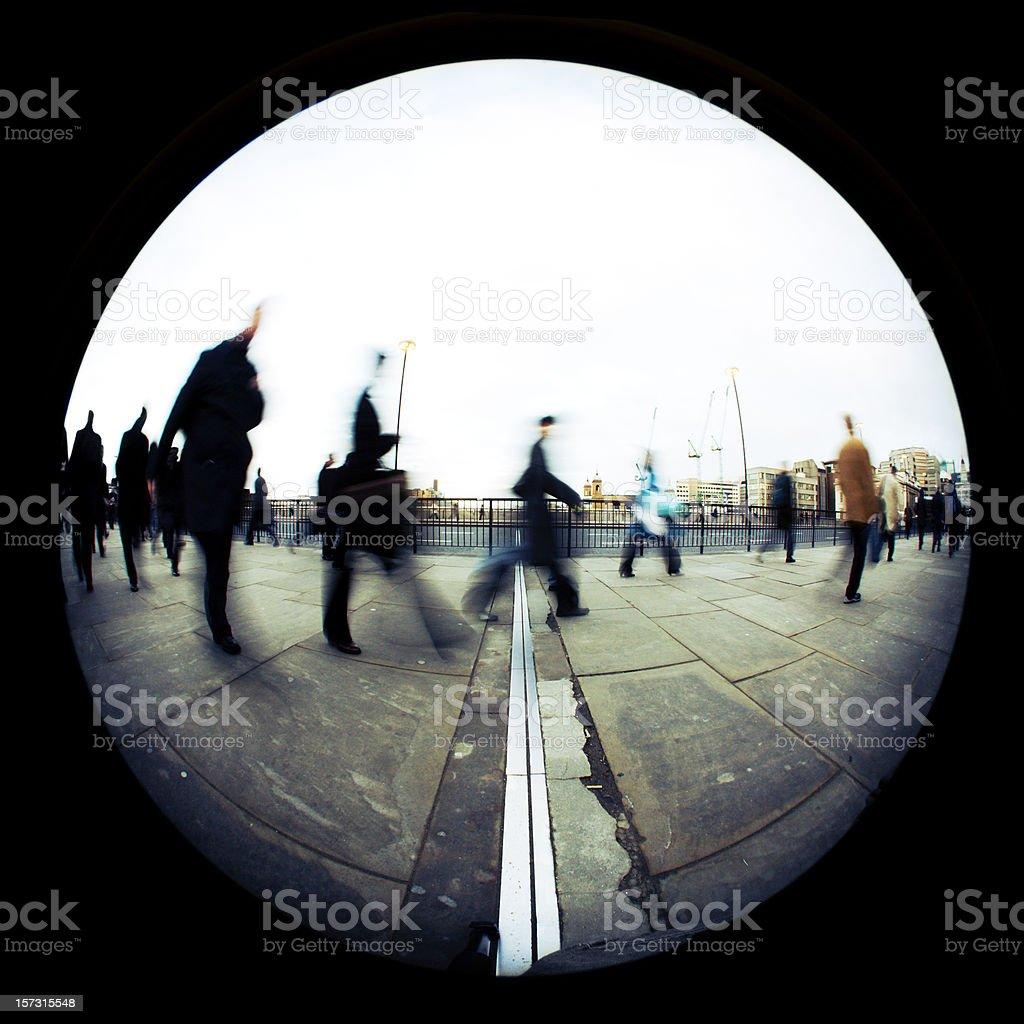 pedestrian stock photo