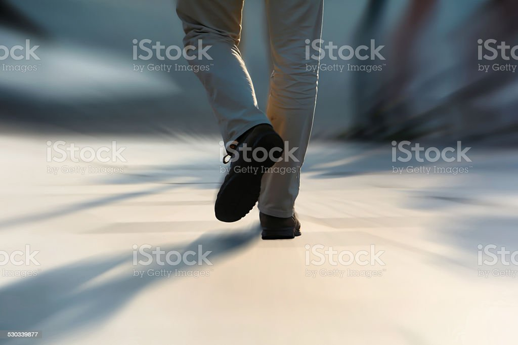 pedestrian stock photo