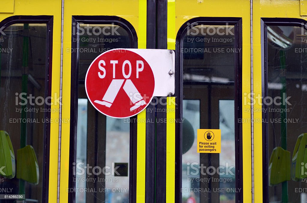 Pedestrian road sign and symbol stock photo