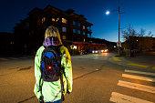 Pedestrian safety at night