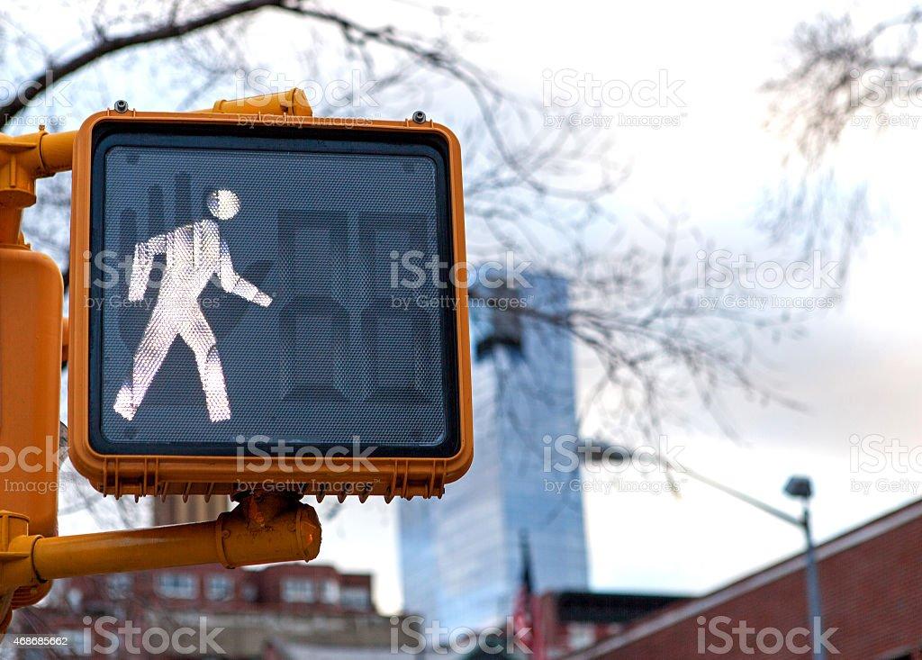 Pedestrian Traffic Light stock photo