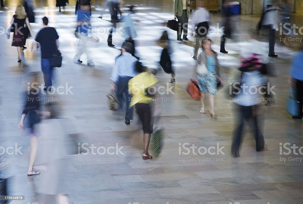 Pedestrian Traffic royalty-free stock photo