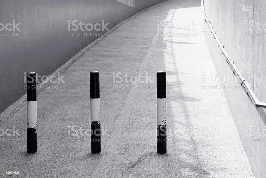 Pedestrian Walkway royalty-free stock photo